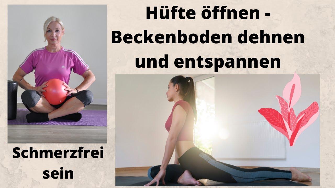 Dehnen beckenboden Yoga für