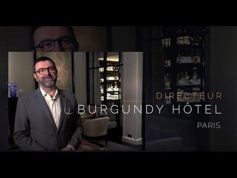Directeur de l'Hôtel Burgundy Paris *****