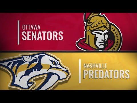 Senators vs Predators   Dec 11,  2018