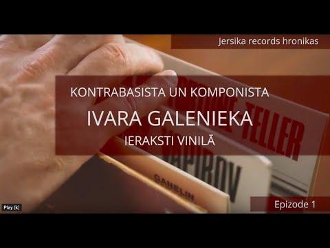 Jersika records chronicles. Episode 1. Ivars Galenieks on vinyl.