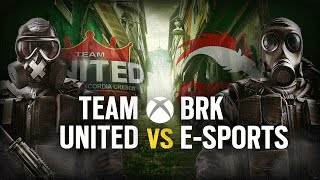 [BR] TEAM UNITED vs. BRK E-SPORTS | Play Day #4 | EliteSix S03 (XBOX)