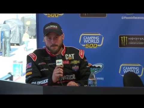 2017 NASCAR Phoenix Monster Cup Post Race Q&A