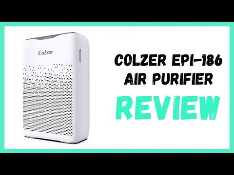 COLZER Air Purifier with True HEPA Air Filter Review ✔️ Colzer EPI-186