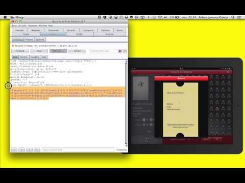 Seguridad - Tutorial de auditoría de Apps con Burp Suite