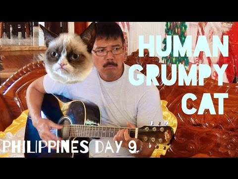 Philippines Vlog Day 9: HUMAN GRUMPY CAT!
