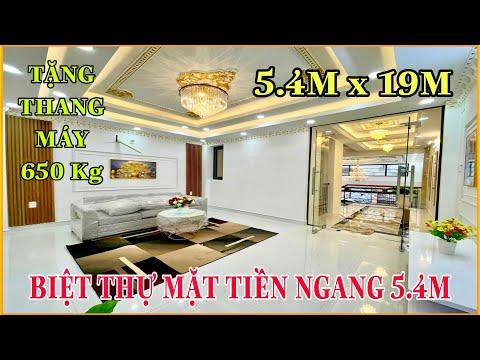 Bán nhà Gò Vấp 799   Biệt Thự Mặt Tiền Kinh Doanh KIẾN TRÚC PHÁP 5.4m x 19m Vị Trí Vàng đường 12m