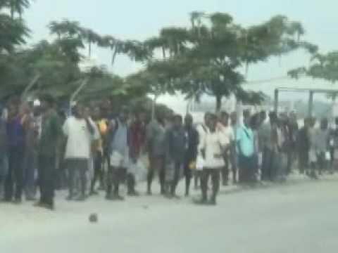 Rioting in the Solomon Islands