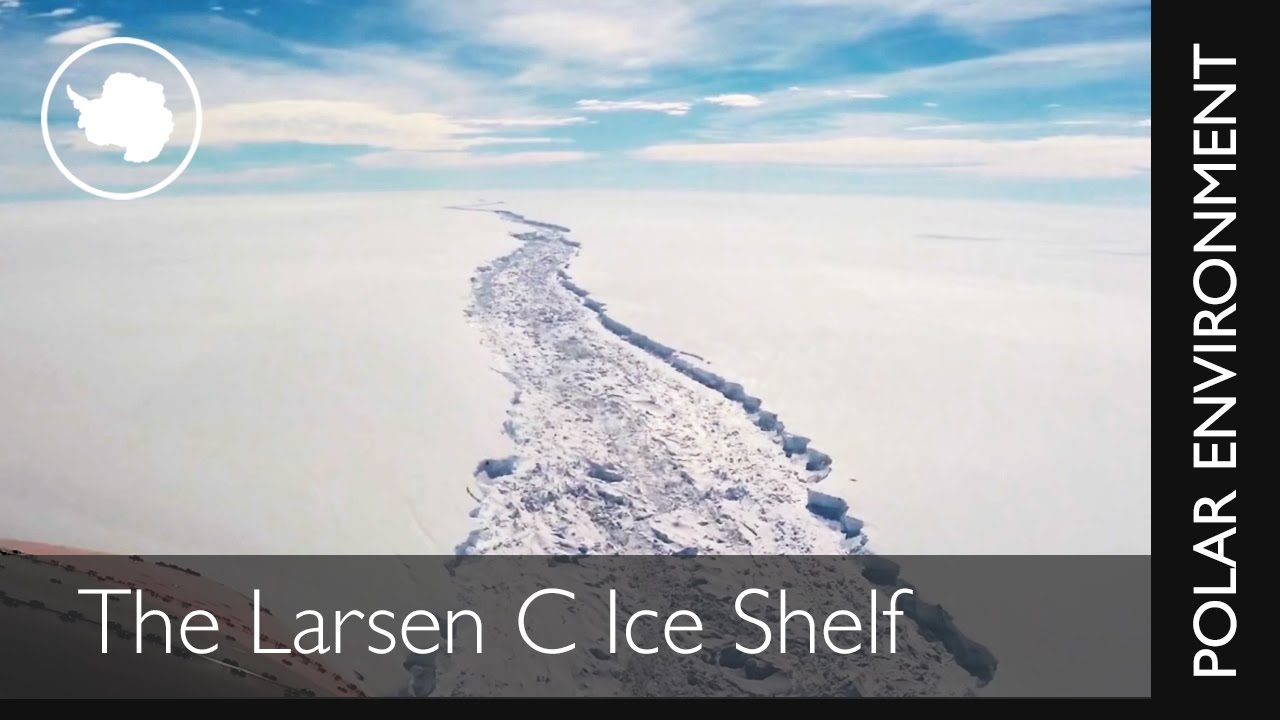 Larsen C Ice Shelf by : British Antarctic Survey