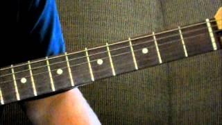 G Major Scale Guitar Lesson