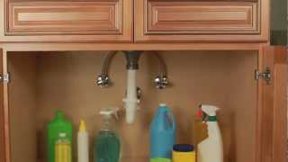 Cabinet Keeper Leak Containment and Organization Tray
