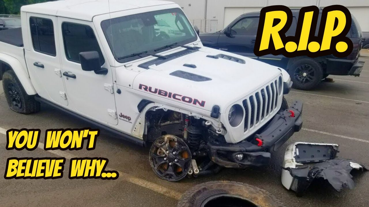 Download My Jeep Gladiator Rubicon was totaled for a very DUMB reason