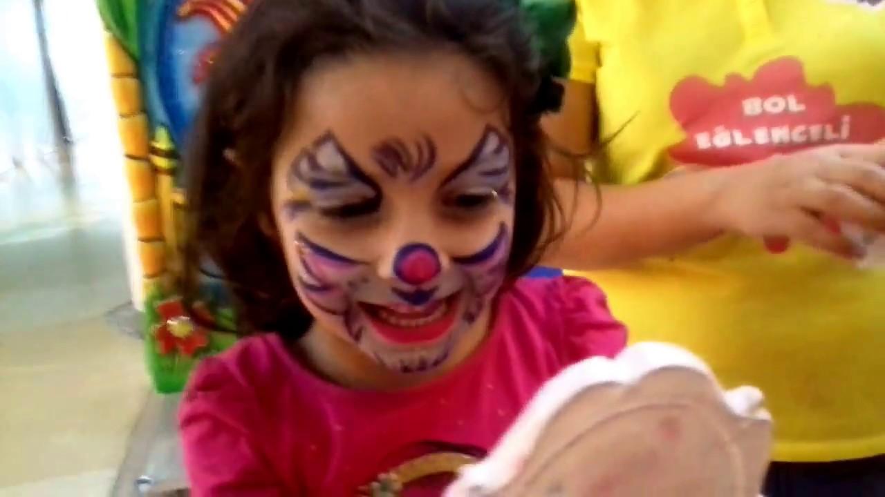 Nilela Tv Vlog Maceramızda Supriz Yüz Boyama çocuk Kedi Makyajı