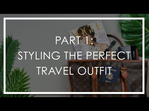 How To Style The Perfect Summer Travel Outfit | 5 Travel Uniform Tips For Women