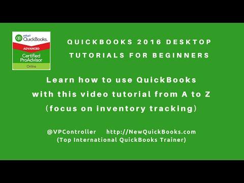 Quickbooks Desktop Tutorials For Beginners