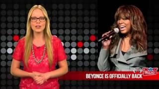 Beyonc\u00e9 Makes Comeback, Serenades Michelle Obama