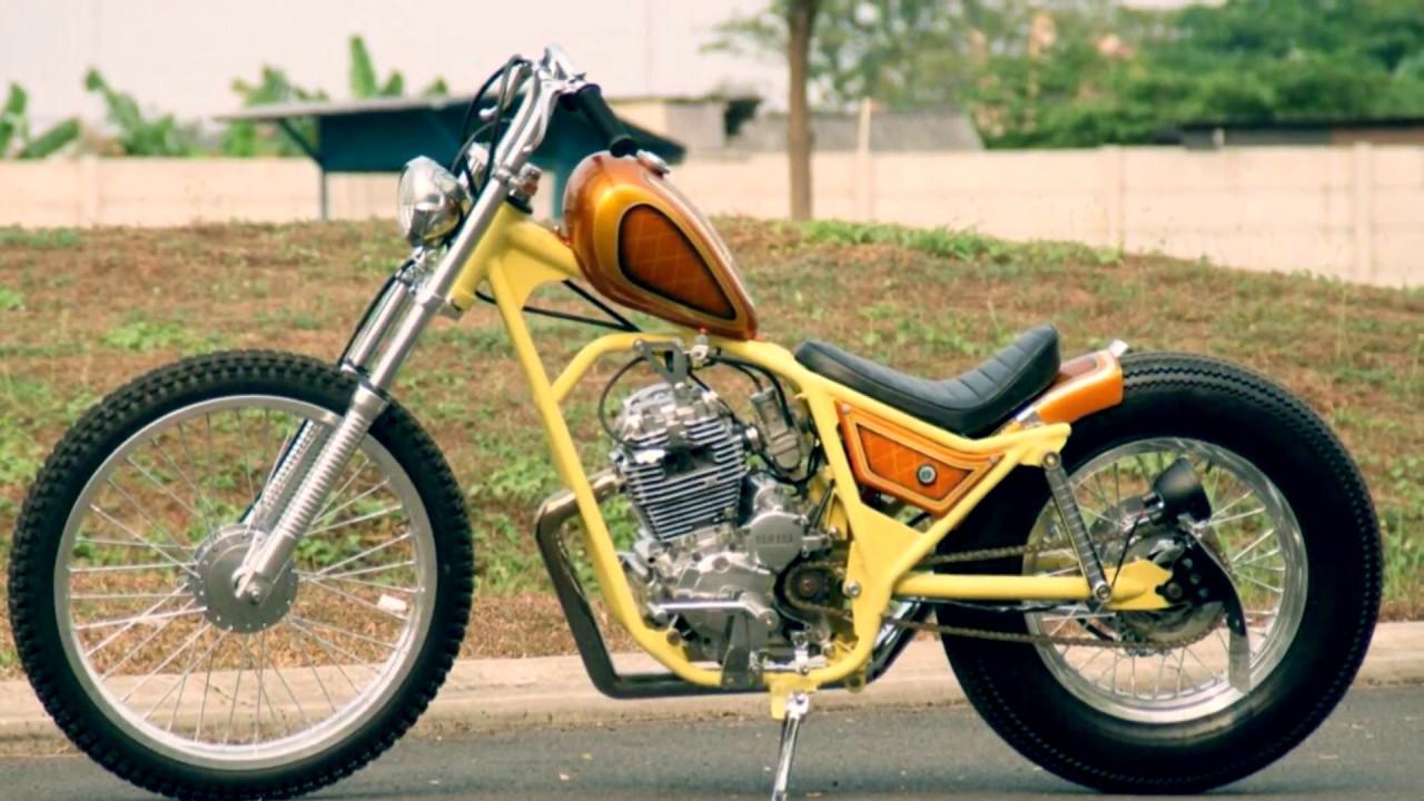 Download Koleksi 65 Modifikasi Yamaha Scorpio Bobber Terbaru Dan