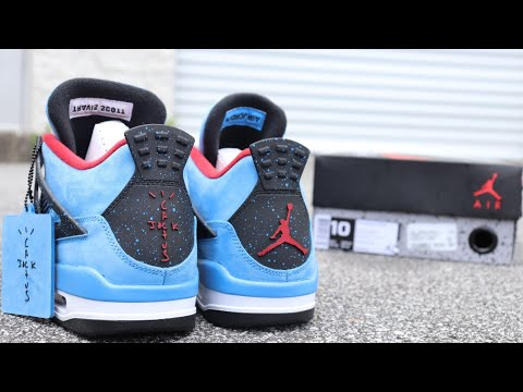 AIR JORDAN 4 TRAVIS SCOTT CACTUS JACK REVIEW