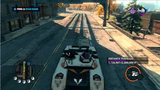 Saints Row the Third (Part 17) - VTOL Transform and Roll Out!