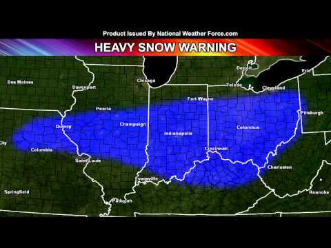 Major Ice/Snow Storm For East-Central United States February 20-21, 2015