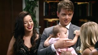 gh michael and sabrina reunite with avery 09 08 15 2 2