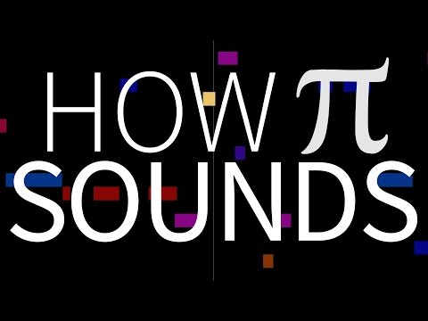 How pi SOUNDS as music!
