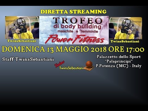 TROFEO POWER FITNESS DI BODY BUILDING E FITNESS 13/05/2018 P