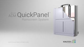 4mm ACM QuickPanel Rainscreen System