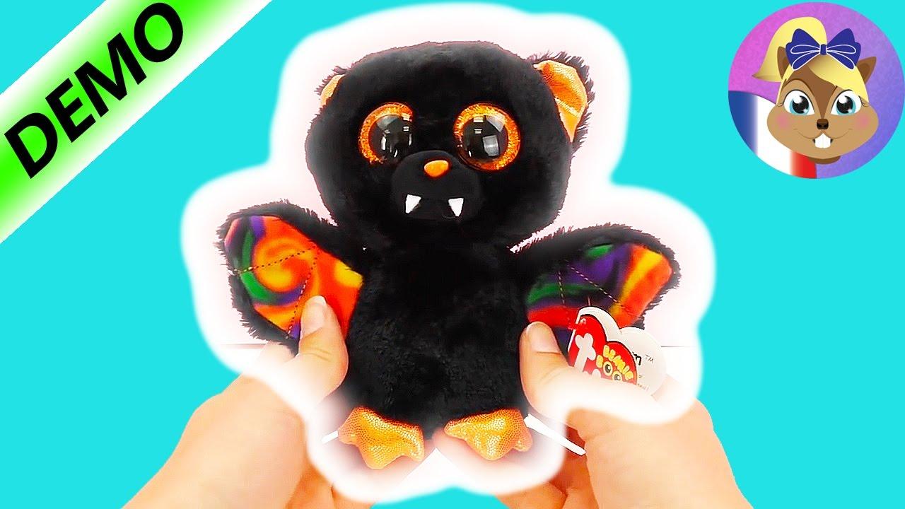 Beanie boos en francais chauve souris en peluche beanie babies peluche beanie boo 39 s youtube - Jeux de toutou a gros yeux ...