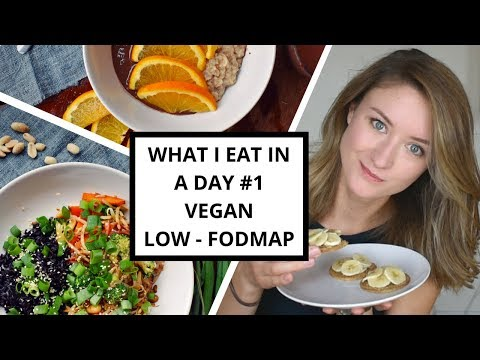 What I Eat In A Day #1 Low-FODMAP & VEGAN for IBS