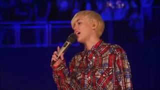 Miley Cyrus -  Why'd You Only Call Me When You're High -  Live in London