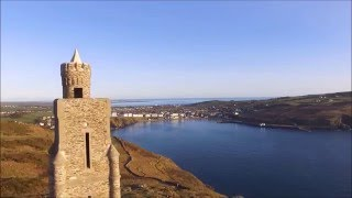 Isle of Man seen by Drone