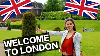 WELCOME TO LONDON | TRAVEL VLOG