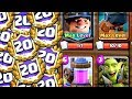 Clash Royale - THE MOST SUCCESSFUL 20 WIN DECK!