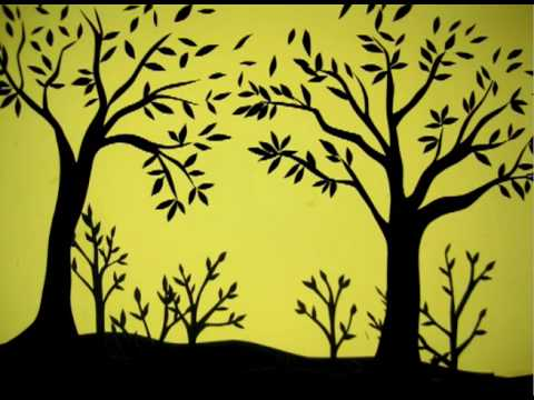 Papercraft You Picked Me_ Paper Cut Stop Motion Animation by Samira K _