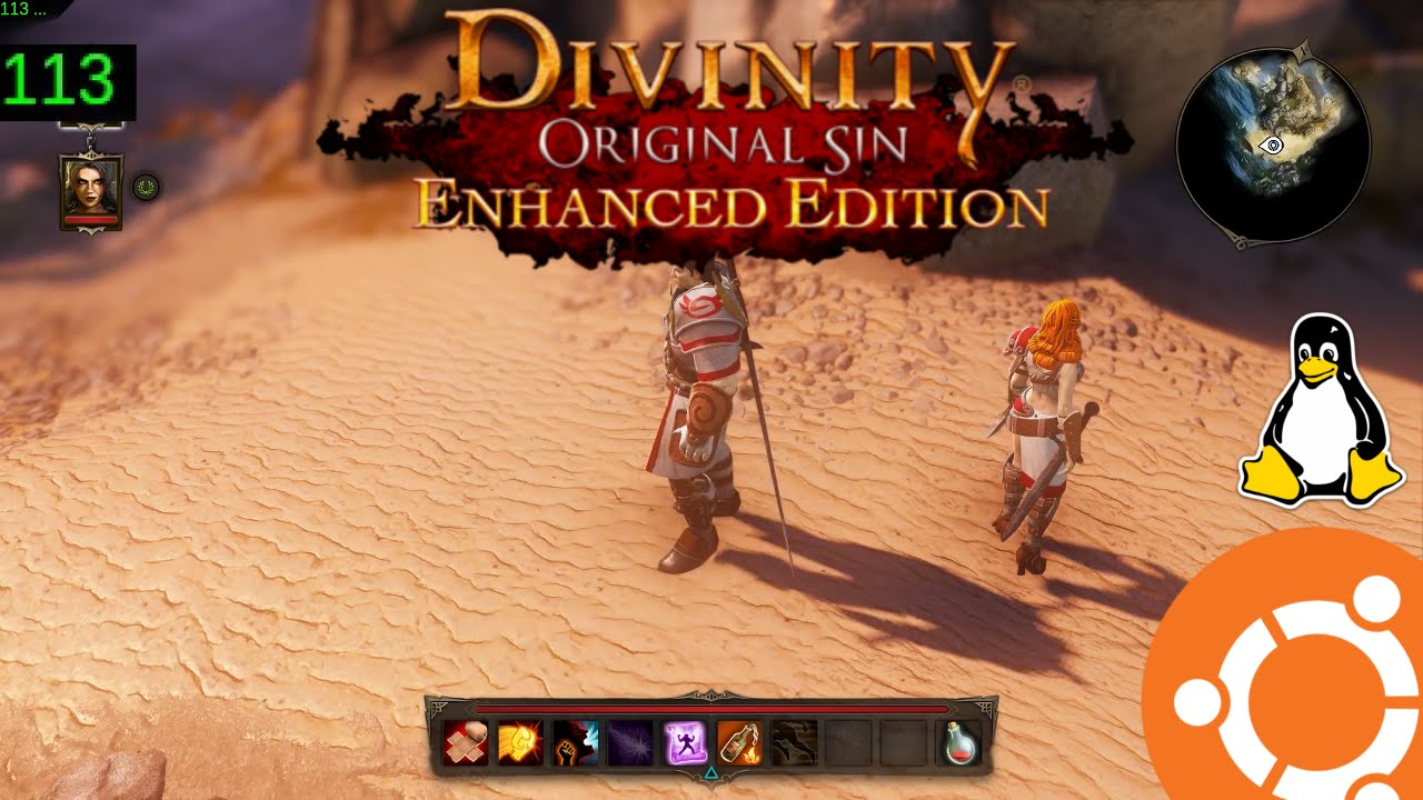 Divinity Original Sin EE Gameplay and Performance on Ubuntu Linux (Native)