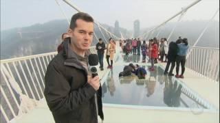 Série JR: China tem a maior ponte de vidro do mundo