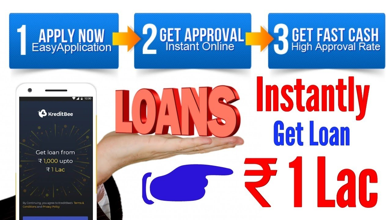 Kreditbee Get Loan 1 Lac Instantly Just 3 Stap Paperless