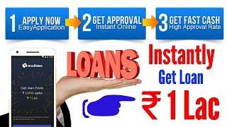 Kreditbee Lening-Ge Lening ₹ 1 Lac direct | op slechts 3 stap | paperless instant goedkeuring | online-proces