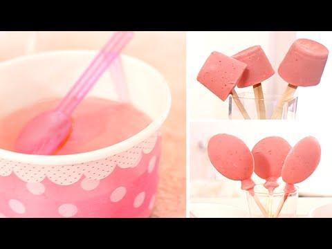 recette facile glace la fraise maison pot sucettes youtube. Black Bedroom Furniture Sets. Home Design Ideas