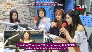[ENG SUB] [FULL] 170626 BLACKPINK on SBS Youngstreet Radio