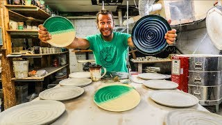 How to throw PLATES out of clay!