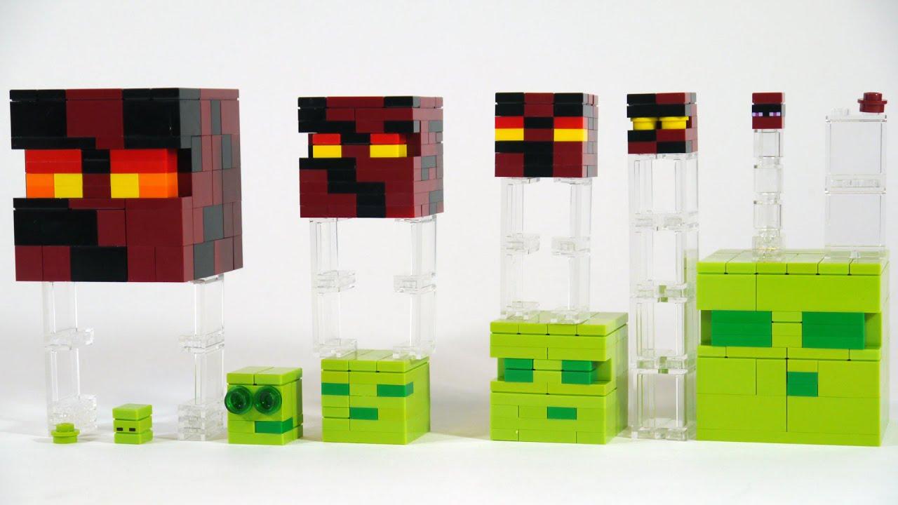 How To Build LEGO Minecraft Slime & Magma Cube | Doovi