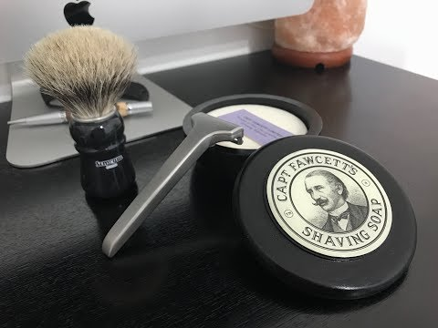Captain Fawcett's Shaving Soap, SOC 2012 Special Edition and Supply Razor V1!!!!!