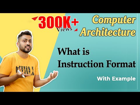 Lec-12: What Is Instruction Format   Understand Computer Organisation With Simple Story