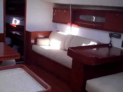 Beneteau Oceanis 50 interior walkthrough