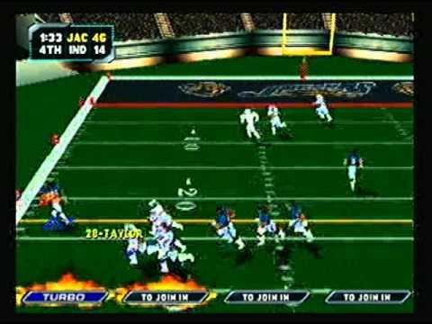 NFL Blitz 2000 - Jacksonville Jaguars vs Indinanpolis Colts (2nd Half)
