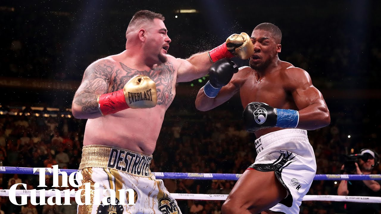 c177bc55cea Andy Ruiz Jr beats Anthony Joshua: WBA/WBO/IBF heavyweight championship –  as it happened | Sport | The Guardian