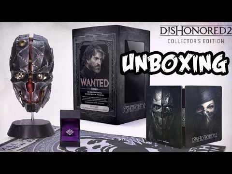 UNBOXING | DISHONORED 2 Collector's Edition