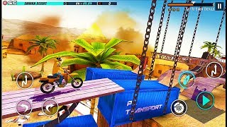 Bike Stunt 2 Xtreme Racing Game - Stunts Motor Racer Games - Android GamePlay