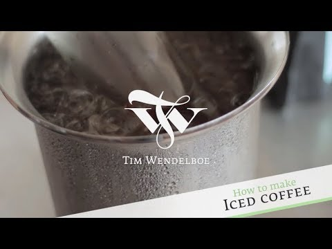 How To Make Iced Coffee Tim Wendelboe